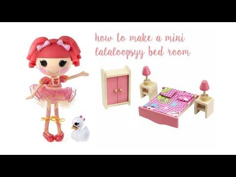 How to make a mini lalaloopsy bedroom-Lalaloopsylover2005