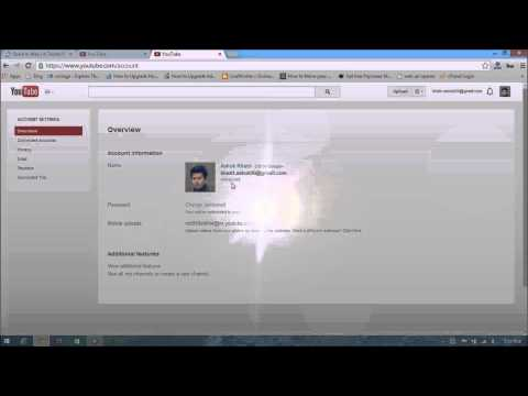 How to find out youtube user id and youtube channel id