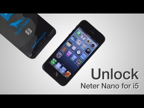 Neter Nano Sim - How to unlock CDMA Sprint iPhone 5