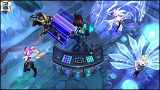 K/DA vs True Damage Skins Music in Game - League of Legends