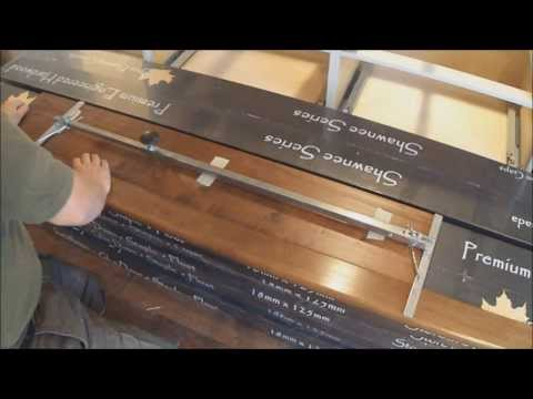 Hardwood Stair Tread Installation: Fit Stair Tread Nosing: How-to Use Stair Jig Mryoucandoityourself