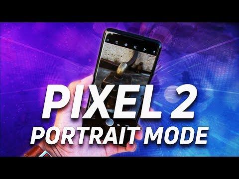 Google Pixel 2 Selfie Portrait Mode