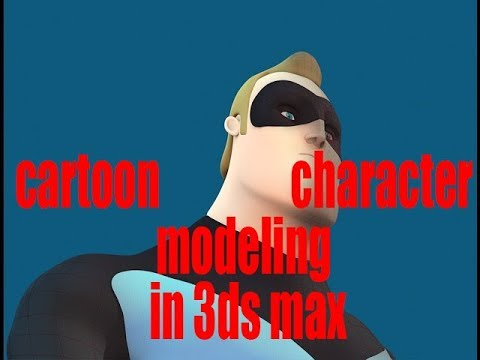 3ds max character modeling tutorial | Cartoon Character Modeling By 3ds Max | eye 3d max