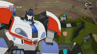 """Transformers: Robots in Disguise - Combiner Force S3E25 """"Enemy Of My Enemy"""" (Part 1/4)"""