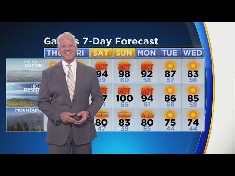 Garth Kemp's Weather Forecast (May 30)