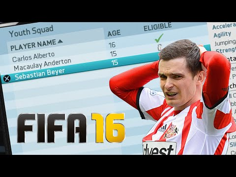 ADAM JOHNSON PLAYS FIFA 16 CAREER MODE!