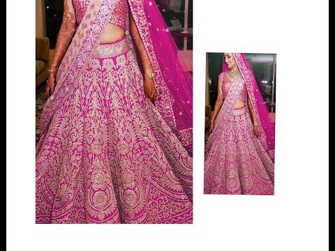 Only 2.5 Mts Fabric 16 Paneled Fitted Lehenga/Ghagara Drafting, Cutting -Making at home for all ages