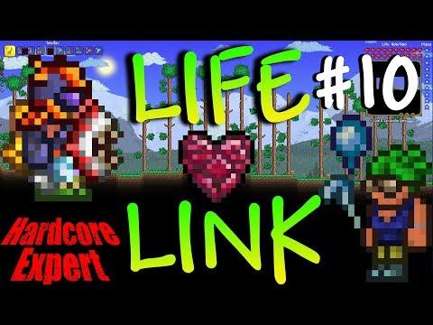 Terraria Expert Hardcore Life-Link w/ NoWayLarry  #10