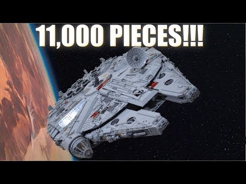 11K Piece LEGO Millennium Falcon MOC with Full Interior (Instructions For Sale!)