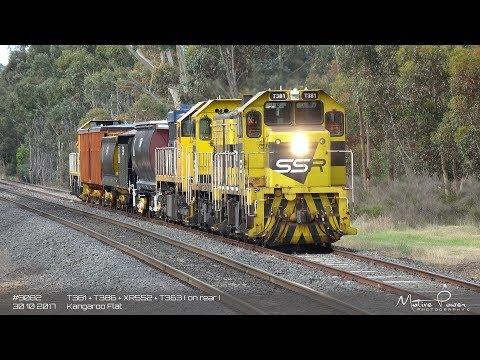 2017 10 30 - SSR Transfer - #9082 - T381 + T386 + XR552 + T363
