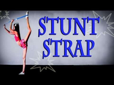 Cheerleading Stretch Routine | Cheer Stretches with Flexibility Stunt Strap