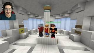 ماب الطيحة مع سيد ! ( صعب و مستحيل 😱 ) - Minecraft DROPPER