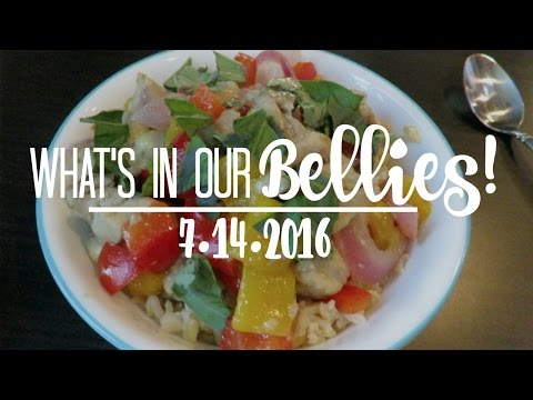 WHAT'S IN OUR BELLIES | 7.14.2016