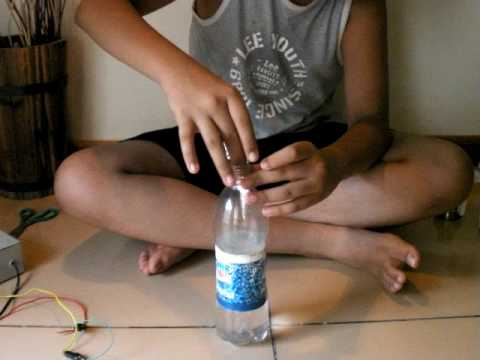 how to make a homemade hydrogen cell, which is electrolysis of water