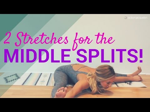 Middle Splits! 2 effective stretches to get you there fast!