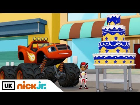 Blaze and the Monster Machines | Catch That Cake | Nick Jr. UK