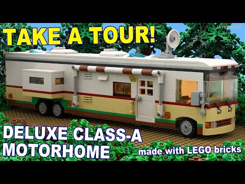 Custom Build - Deluxe Class A Lego Motorhome