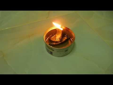 Quick oil lamp &