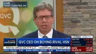 QVC CEO Mike George on (Liberty Media) Buying HSN