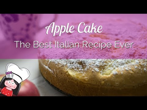 The best ITALIAN APPLE CAKE RECIPE ever!
