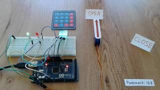 SFE Trainer Arduino Project 4 : Akses Keypad 4x4 dan