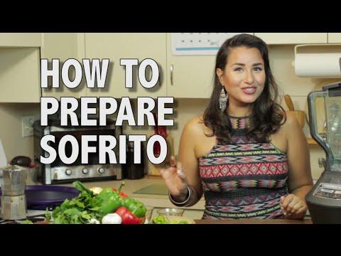 How to make SOFRITO!