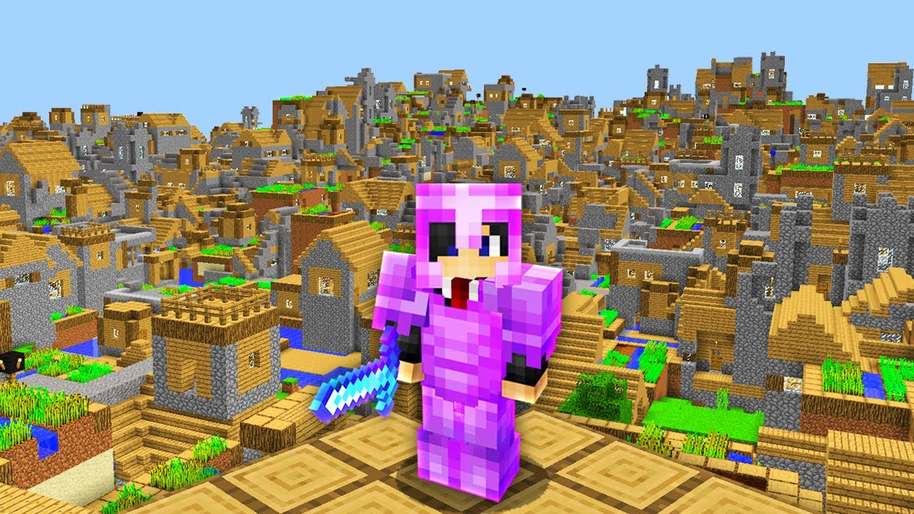 Minecraft, But Villages Are OP...