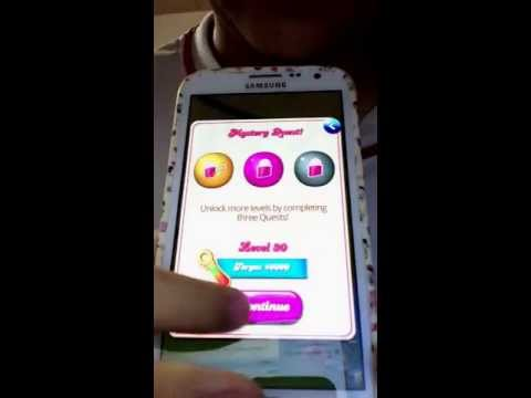 Unlock candy crush without facebooking or paying ปลดล็อกแคนดี้ครัช