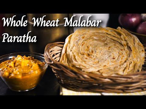 Whole Wheat Malabar Paratha