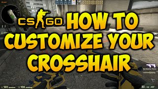 How To Change Your Crosshair in CSGO! (2017)