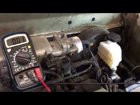 Throttle Position Sensor - Quick Check - Hyundai Elantra 2001