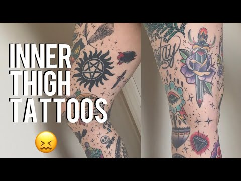 All About My Inner Thigh Tattoos
