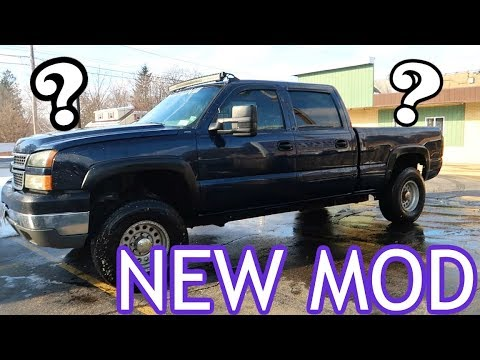 NEW DURAMAX MOD - PLUS SOMETHING FOR YOU!