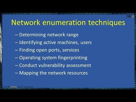 4.1 Network Enumeration