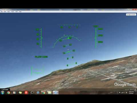 Google Earth Flight Simulator Tutorial