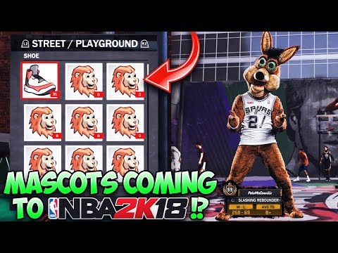 Finally MASCOTS Coming to NBA 2K18!!? Or is 2K Done With New Content This Year...
