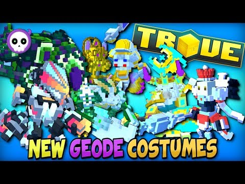 7 NEW FREE CRAFTABLE COSTUMES COMING TO TROVE GEODE!!