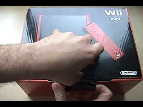 Nintendo Wii Mini Unboxing