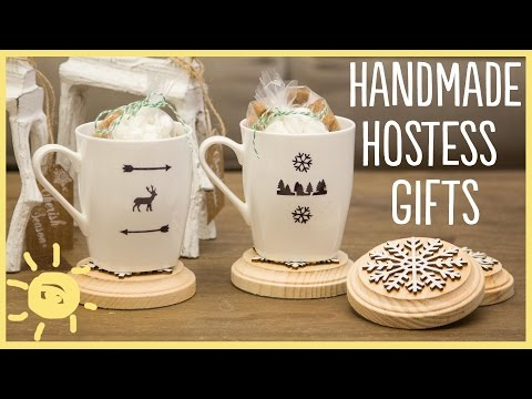 DIY   Sharpie Mugs and Easy Hostess Gifts!!