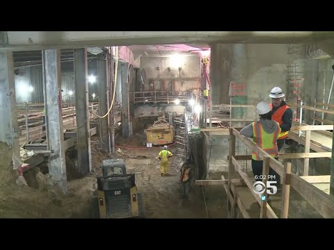 Central Subway Construction Delays Likely To Impact Opening Of New Warriors Arena