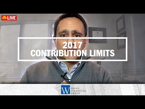 Contribution Limits 2017 - How Much Can I Contribute to My Retirement Plan This Year?