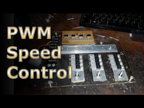Car Alternator BLDC Motor Driver w/ PWM Speed Control
