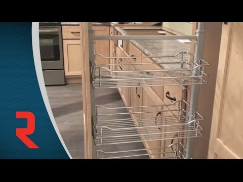 Pull-out pantry installation