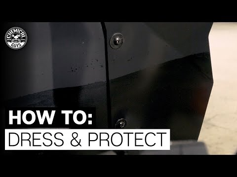 How To Dress & Protect Undercarriage and Trim! - Chemical Guys