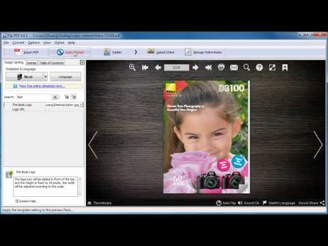 PDF to Flash FlipBook - Convert PDF to Flash