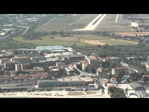 Landing at Ancona airport