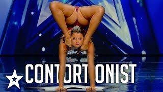 SEXY CONTORTIONIST Amazes Judges on Spain