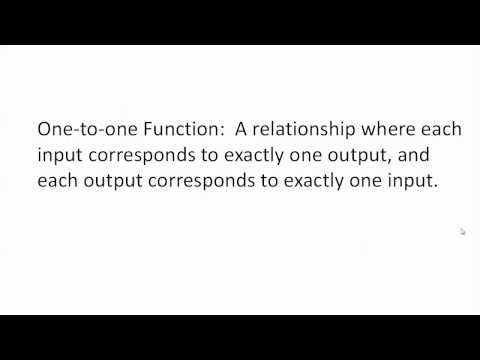 1.1 Functions and Function Notation