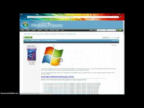 Download Windows 7 Trial (ISO) Free (NO PRODUCT KEYS SUPPLIED)
