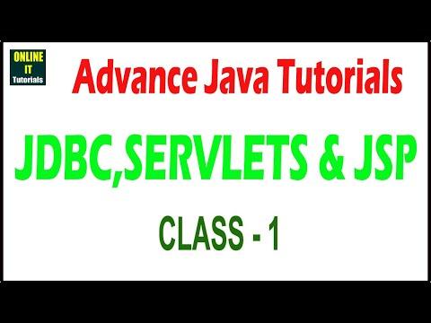 Java Tutorial | Advanced Java class - 1 | Introduction | Rudrait
